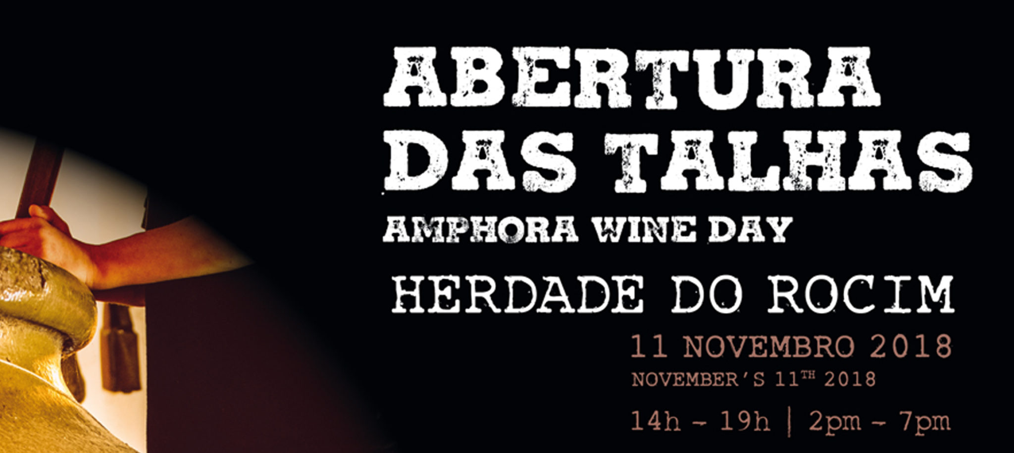 Amphora Wine Day 2018   Herdade do Rocim